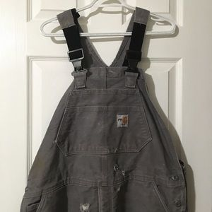 Carhartt fire resistant insulated overalls